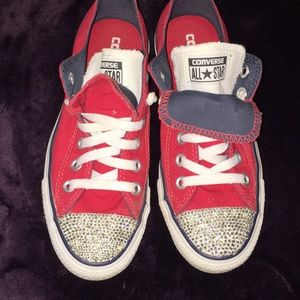 905a66673b51 Women s Bedazzled Converse on Poshmark